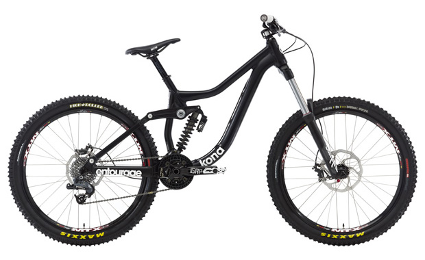 e4c432ebb5f Introducing the all-new downhill/bike park/big-mountain-specific,  down-addicted destroyer: the Entourage. In essence, it's a smaller-travel  (170mm) Operator ...